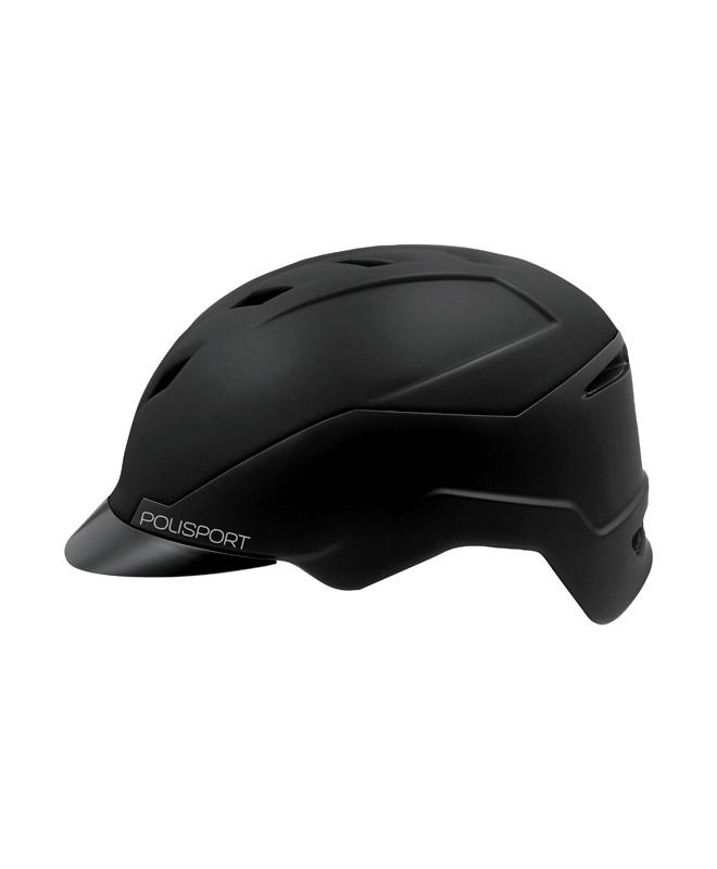 Polisport E-Bike Helm E'City 55/58cm Grijs/Zwart