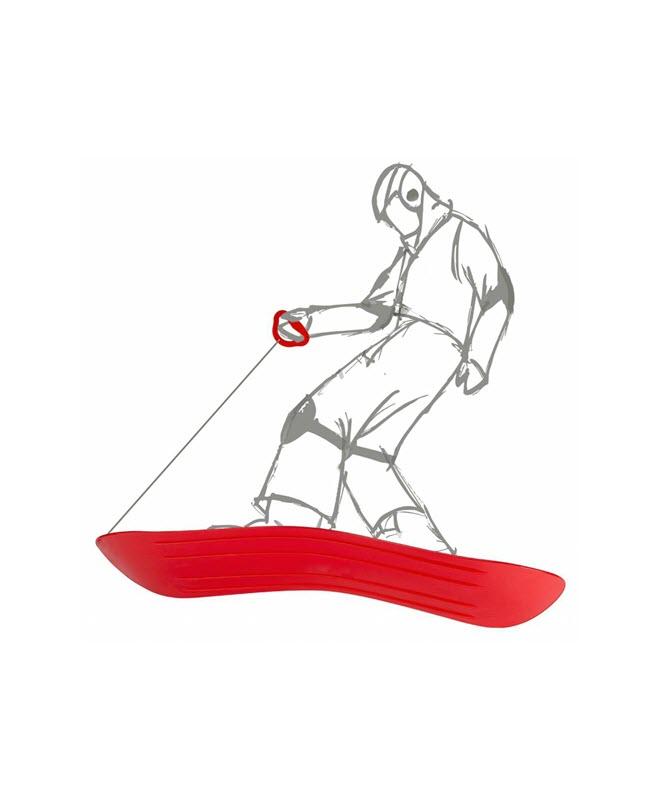 snowboard-junior-rood